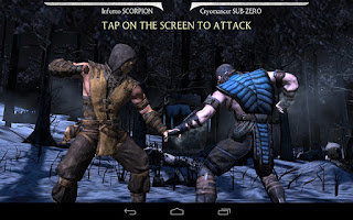 Cloudfone Cloudpad Epic 7.1 Sample Game - Mortal Kombat X