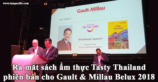 Ra mắt sách ẩm thực Tasty Thailand phiên bản cho Gault & Millau Belux 2018