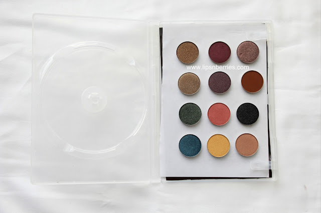 Magnetic Z eyeshadow palette DIY
