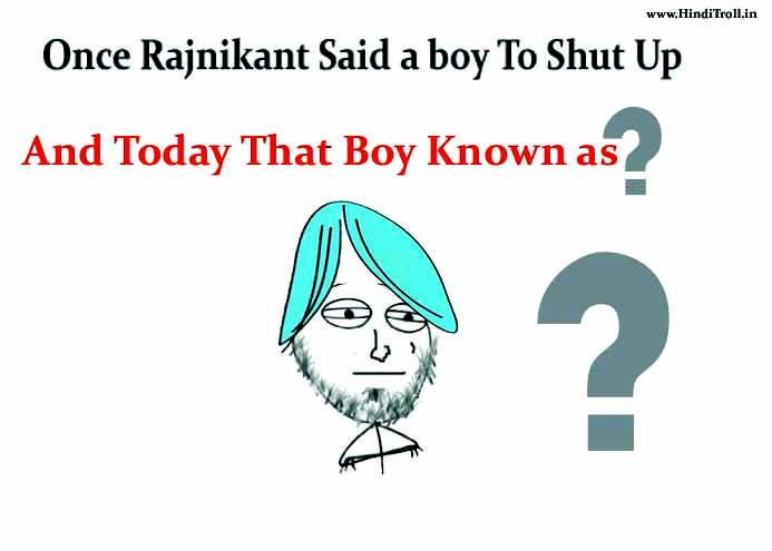 Punjabi Boy And Girl Wallpaper Once Rajnikant Said A Boy To Shut Up And Thats Boys Today