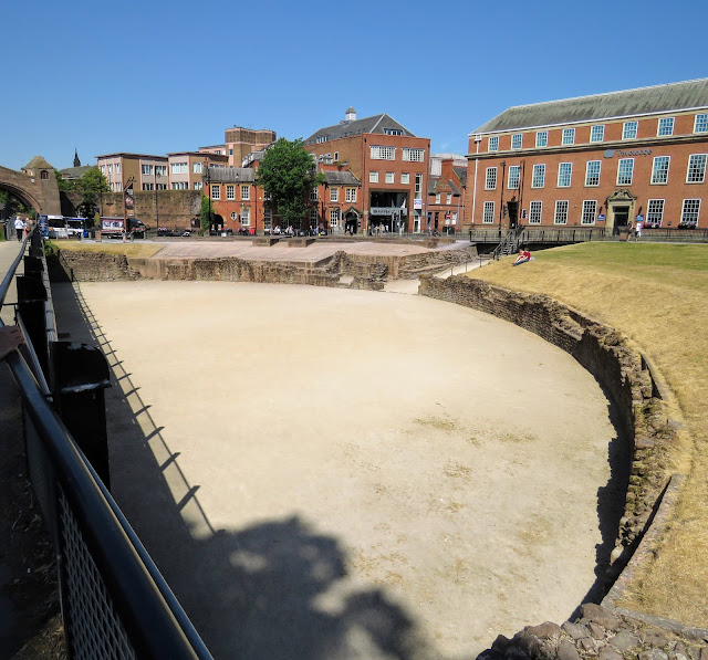 Things to do in Chester England: Roman Amphitheatre