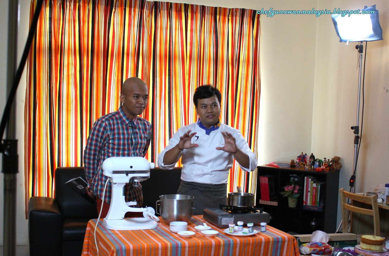 Di Sebalik Tabir Hero Dapur Chef Cyber Obie
