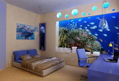 Decorar las paredes con murales