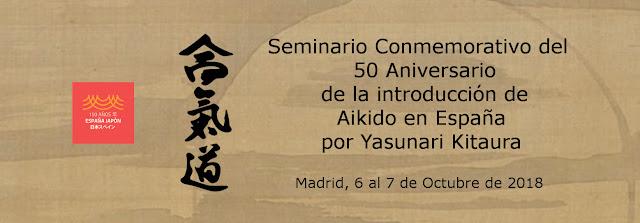 50 aniversario Yasunari Kitaura
