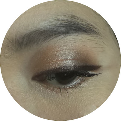 make over trivia eyeshadow echanting nude spell review test