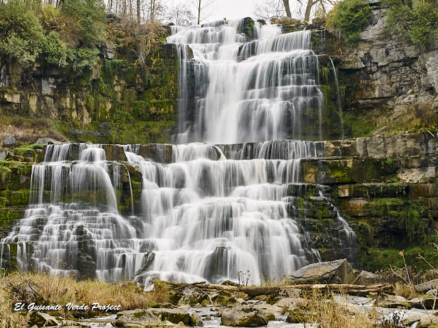 Chittenango Falls State Park, NY, por El Guisante Verde Project