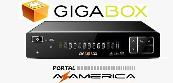Resultado de imagem para GIGABOX S1100 portal azamerica