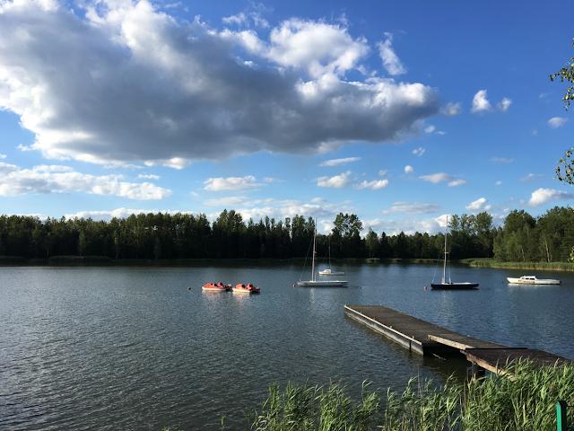 Pomysł na weekend w Polsce - Zalew Sosina