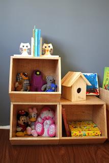 móvel para brinquedos
