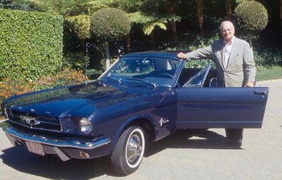 Lee Iacocca & 1965 Ford Mustang Prototype