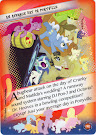 My Little Pony An Average Day in Ponyville Equestrian Friends Trading Card