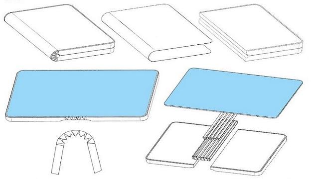 حصلت هواوي (Huawei) على براءة إختراع هاتف قابل للطي