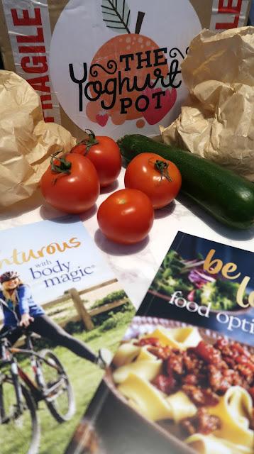Danielle Levy, The Yoghurt Pot, fruit box delivered, veg box delivered, Slimming World, Slimming World blogger,