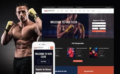 Página web Fitness Ejercicio