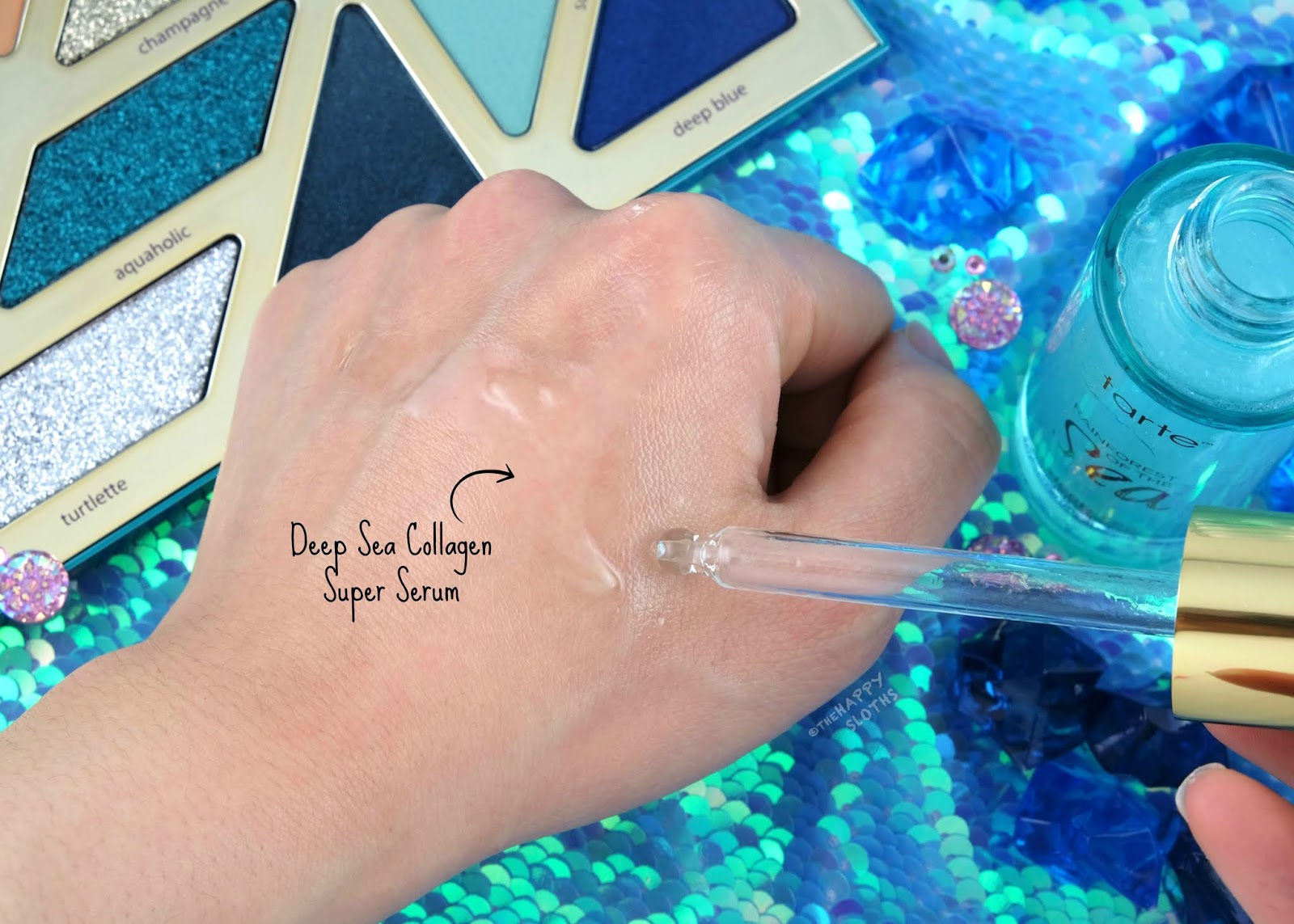 Tarte | Deep Sea Collagen Super Serum: Review and Swatches