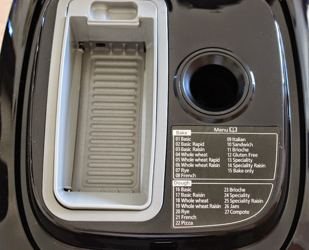 Panasonic Bread Maker close up