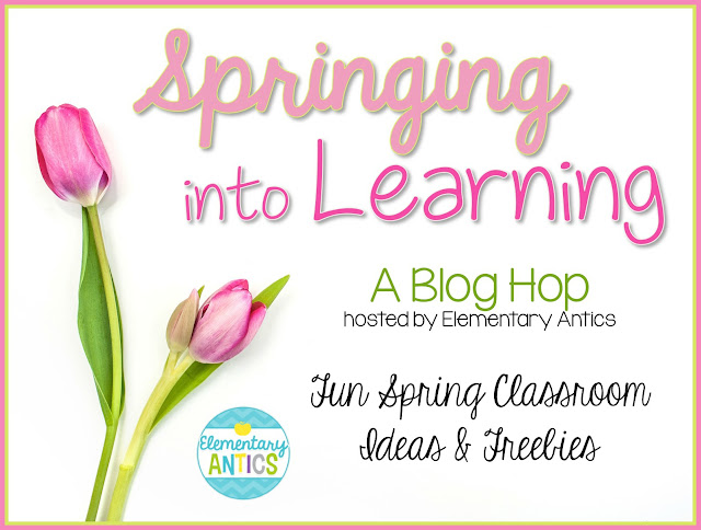 Springing into learning blog hop - using poetry in the classroom is a great springboard into spring - ideas from Raki's Rad Resources.