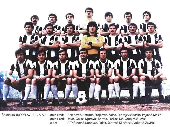 F.K PARTIZAN 1977-78. By Panini.