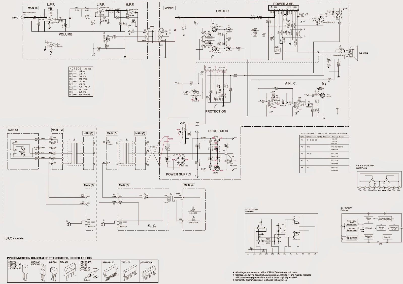 yamaha - yst sw030y - yst sw101ss - sub-woofer ... gecko circuit board wiring diagram