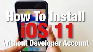 ios 11 beta per iphone 5
