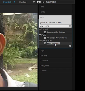 Cara Menghilangkan Noise atau Memperjelas Video di Adobe After Effects