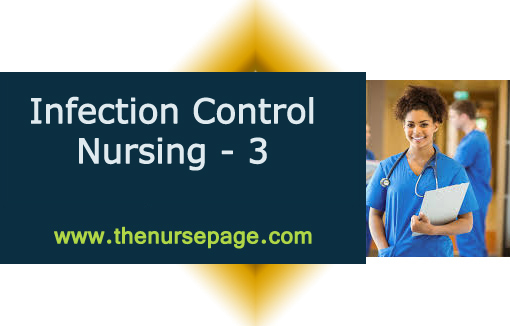 Important Questions of Infection Control Nursing - 3 - The