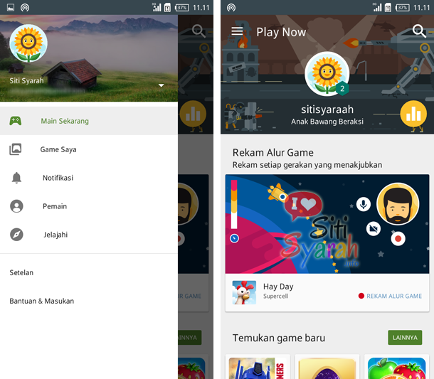 fungsi google play game android