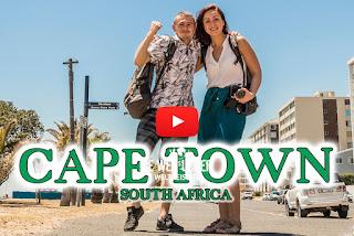 Green Point und Strandpromenade in Kapstadt, Südafrika, Weltreise, Die Wegsucher