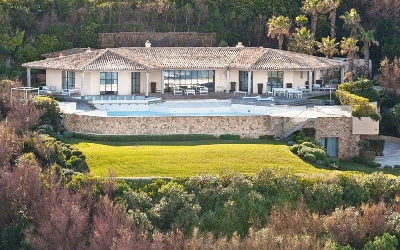 Villa des Parcs in St. Tropez