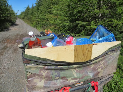 Newfoundland ATV Trip lunch break