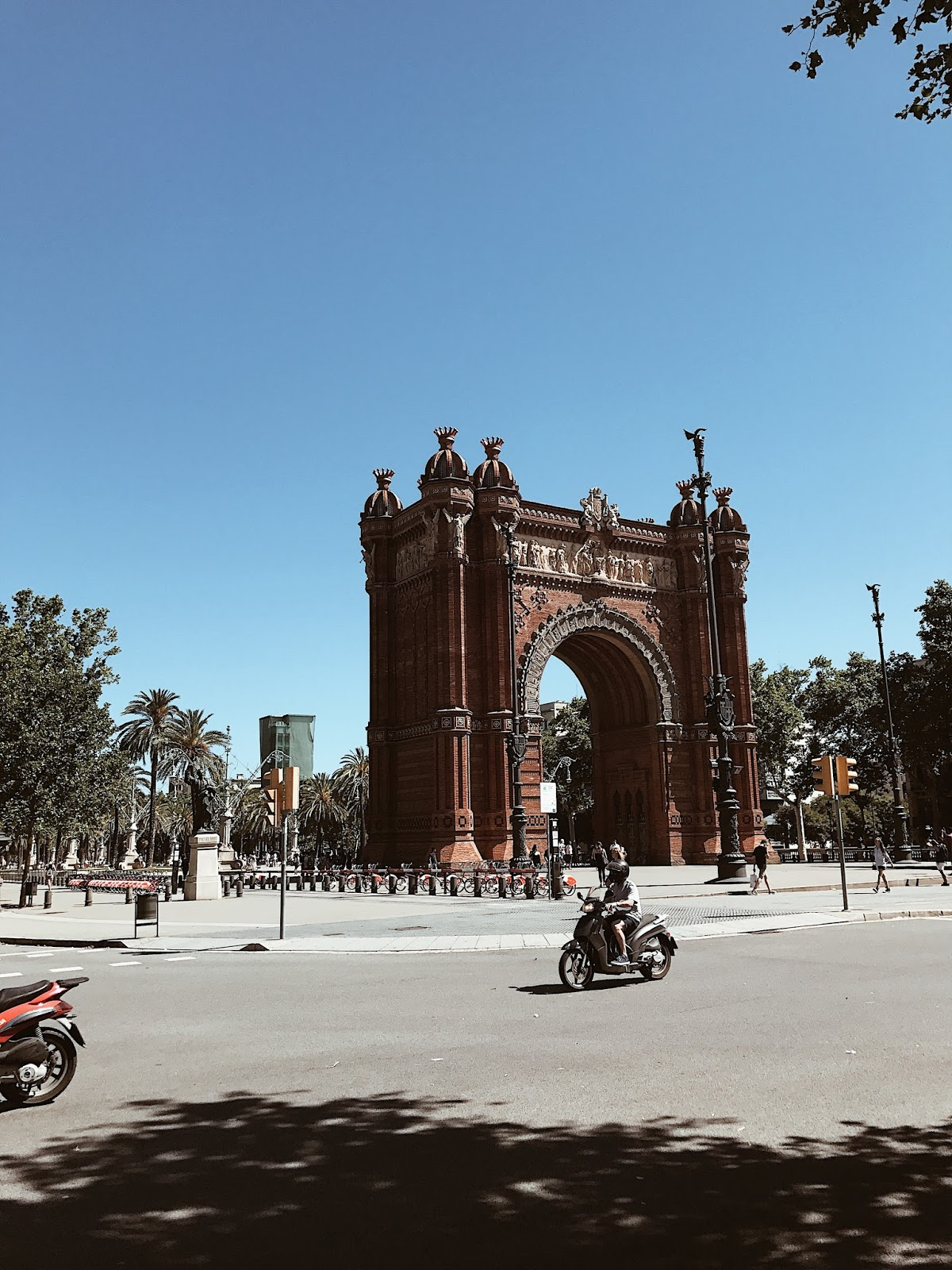 Summer in Barcelona