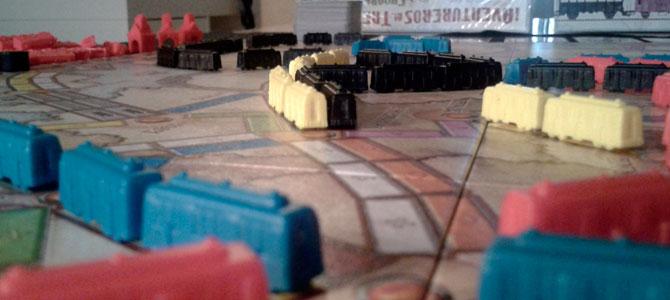 Aventureros al tren vagones