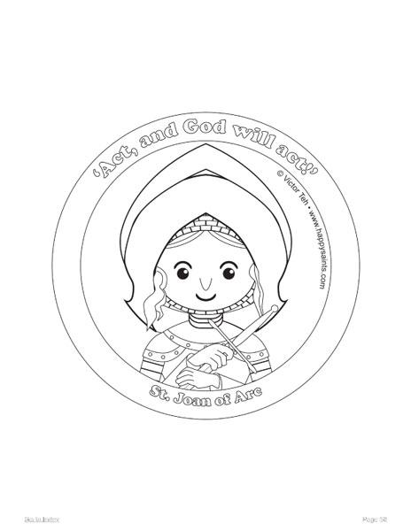 Happy saints happy saints ebook 2 for St rose of lima coloring page
