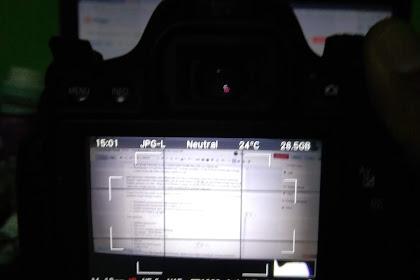 Cara Menampilkan Grid Display Pada Canon Dslr