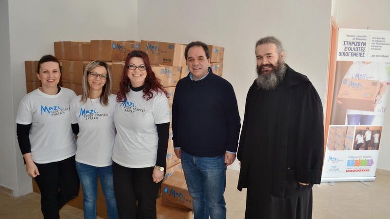 Δράσεις αγάπης και προσφοράς από την Αρχιεπισκοπή Αθηνών και τη Μητρόπολη Αλεξανδρούπολης