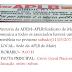 Comunicado da APLB/Sindicato de Mairi-BA
