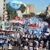 Convocatoria por Paz, Pan y Trabajo: los movimientos sociales fueron por la unidad