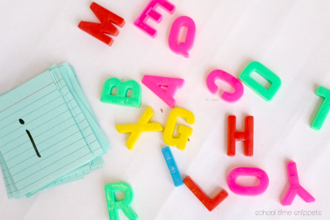 preschool alphabet game