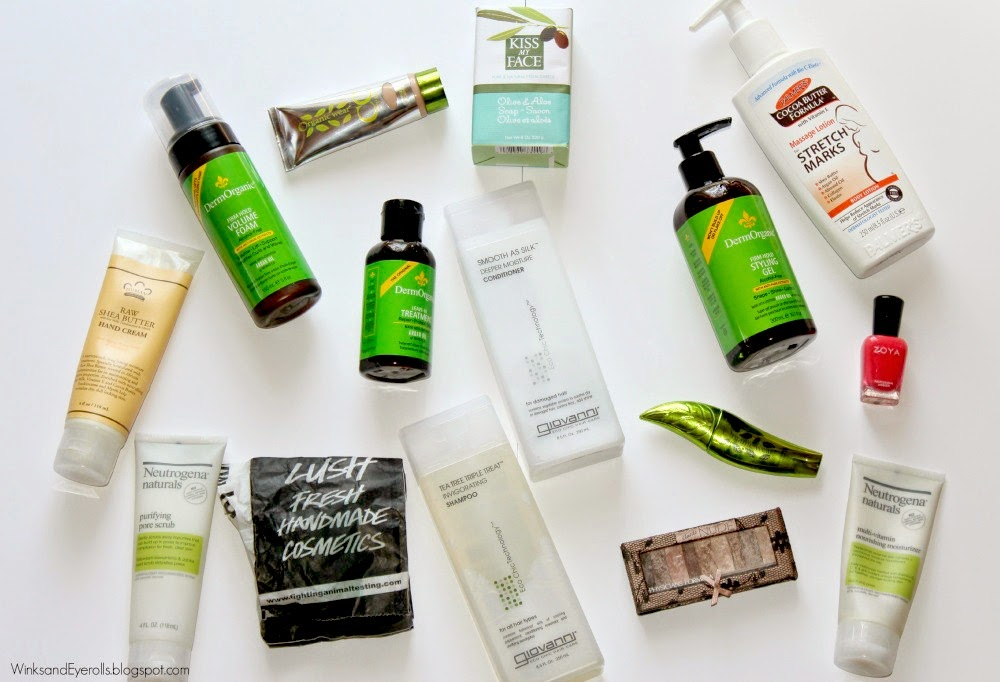 Natural beauty products while pregnant