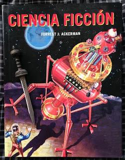 Portada del libro Ciencia ficción, de Forrest J. Ackerman