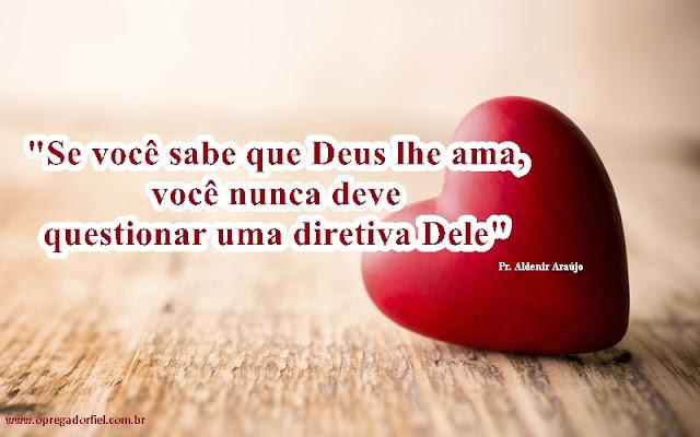O amor nos conduz à obediência