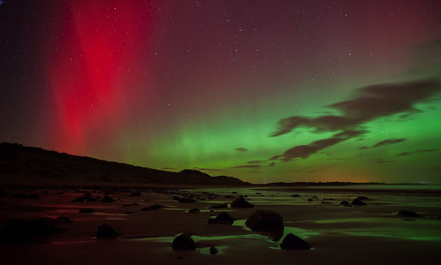 Aurora over Embleton Bay