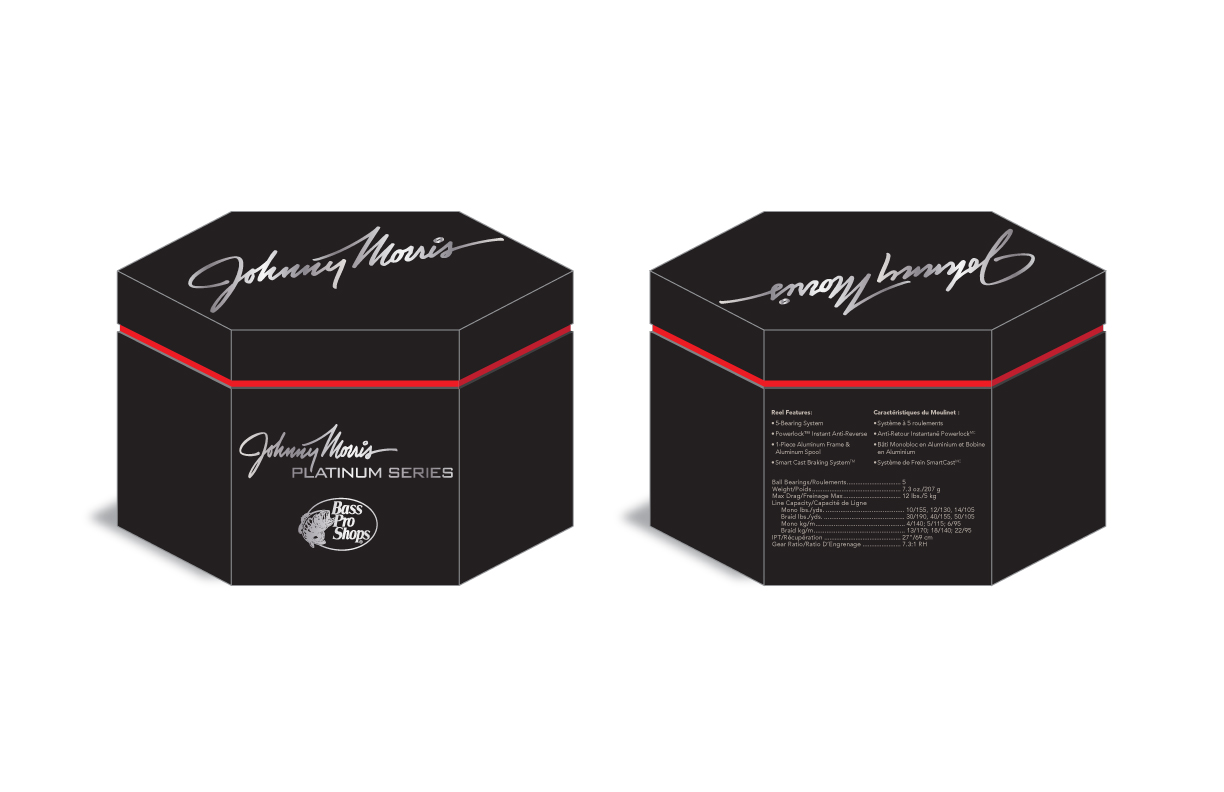 Johnny Morris Platinum Series Reel Box