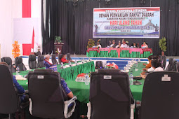 DPRD MTB Gelar Sidang Paripurna Istimewa Perdana HUT Kabupaten Ke-19