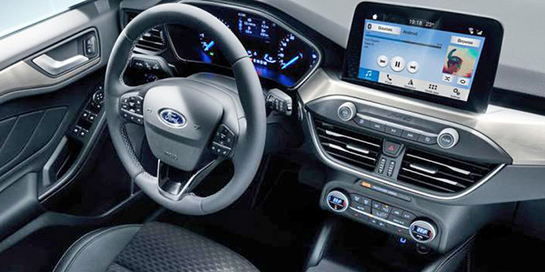 Burlappcar: 2020 Ford Escape interior