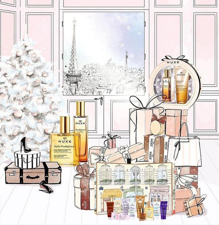 Kalendarze adwentowe z kosmetykami 2016