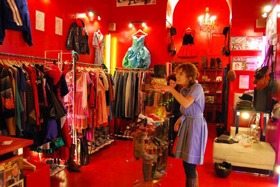 Pifebo tienda vintage en Roma