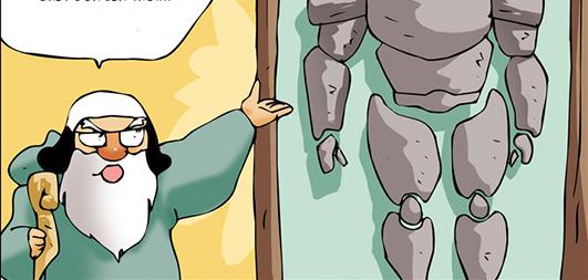 Kim Chi & Củ Cải (bộ mới) phần 872: Áo giáp