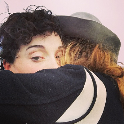 Kara Devlin and Annie Clark