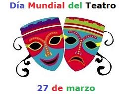 Ilustración por el Día Mundial del Teatro a colores